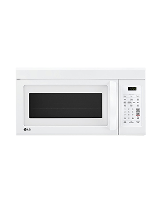 LG White Microwave